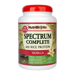 Spectrum Complete with Rice Protein, Vanilla 1 lb. 0.5 oz.