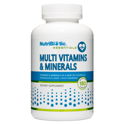 Multi Vitamins & Minerals 180 caps.
