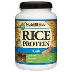 Rice Protein, Plain 21 oz.