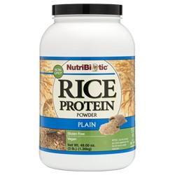 Rice Protein, Plain 3 lb.