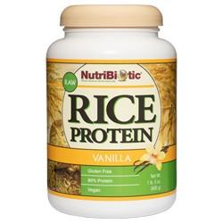 Rice Protein, Vanilla 21 oz.