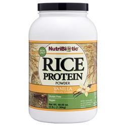 Rice Protein, Vanilla 3 lb.