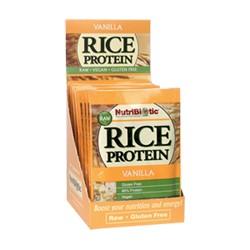 Rice Protein, Vanilla .53 oz. pkts., 12/box