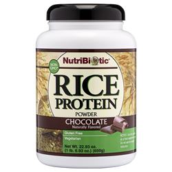 Rice Protein, Chocolate 22.9 oz.