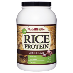 Rice Protein, Chocolate 3 lb.