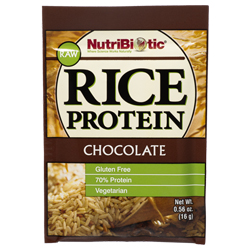 Rice Protein, Chocolate .56 oz. Single Serving Packet