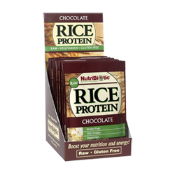 Rice Protein, Chocolate .56 oz. pkts., 12/box