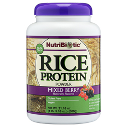Rice Protein, Mixed Berry 21 oz.