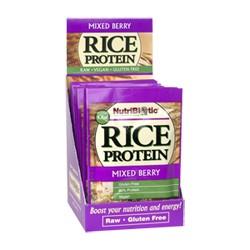 Rice Protein, Mixed Berry .53 oz. pkts., 12/box