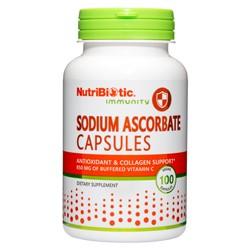 Sodium Ascorbate 850 mg Capsules, 100 caps.