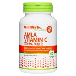 Amla Vitamin C 1000 mg Tablets, 60 tabs.