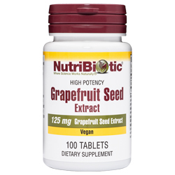 Grapefruit Seed Extract Tablets, 125 mg, 100 tabs.