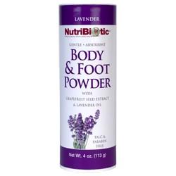 Body & Foot Powder, Lavender 4 oz.