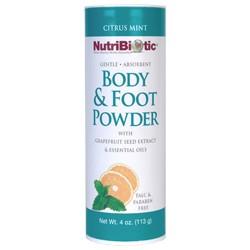 Body & Foot Powder, Citrus Mint 4 oz.