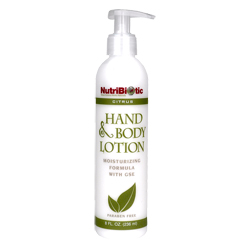 Hand & Body Lotion, Citrus 8 oz.