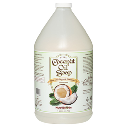 Pure Coconut Oil Soap, Unscented 1 gal.
