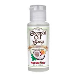 Pure Coconut Oil Soap, Peppermint & Bergamot 2 oz.