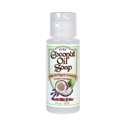 Pure Coconut Oil Soap, Lavender Lemongrass 2 oz.