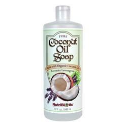 Pure Coconut Oil Soap, Lavender Lemongrass 32 oz.