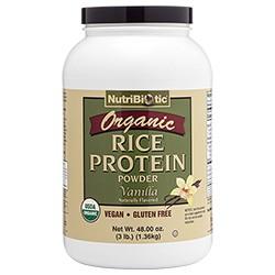 Organic Rice Protein, Vanilla 3 lb.
