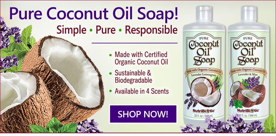 Pure Coconut Oil Soap!