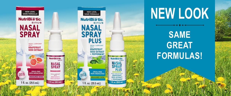 New Look for Nasal Sprays!
