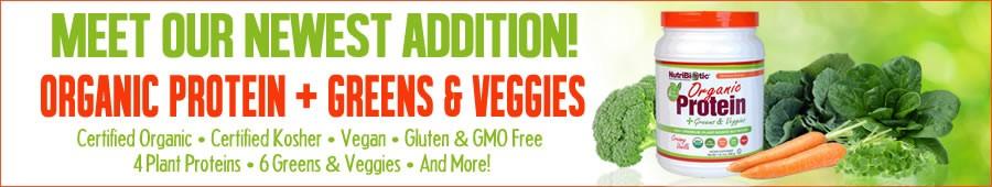 Organic Protein + Greens & Veggies!