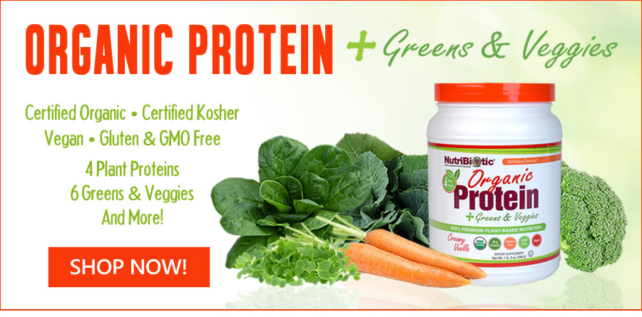 Organic Protein + Greens & Veggies