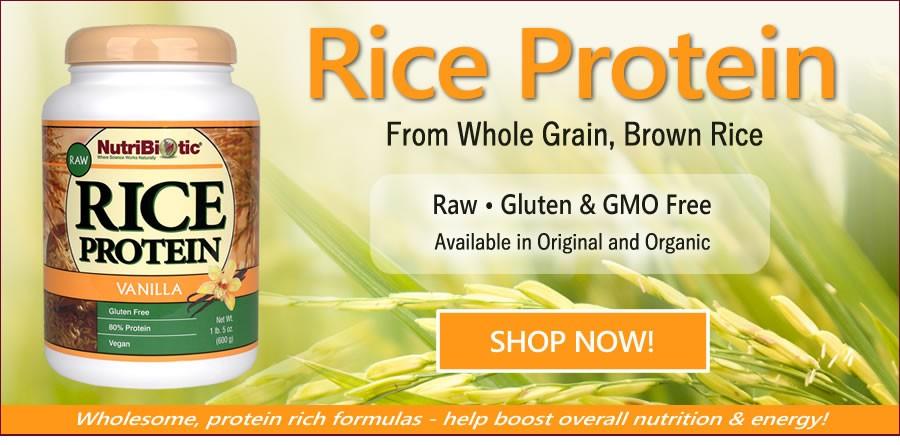 Rice Protein!